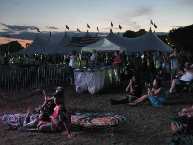 Twifties Tips for Music Festivals at Gathering of the Vibes 2010